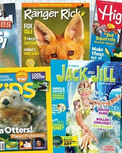 Get kids reading with these 12 amazing magazines for ages 6-14